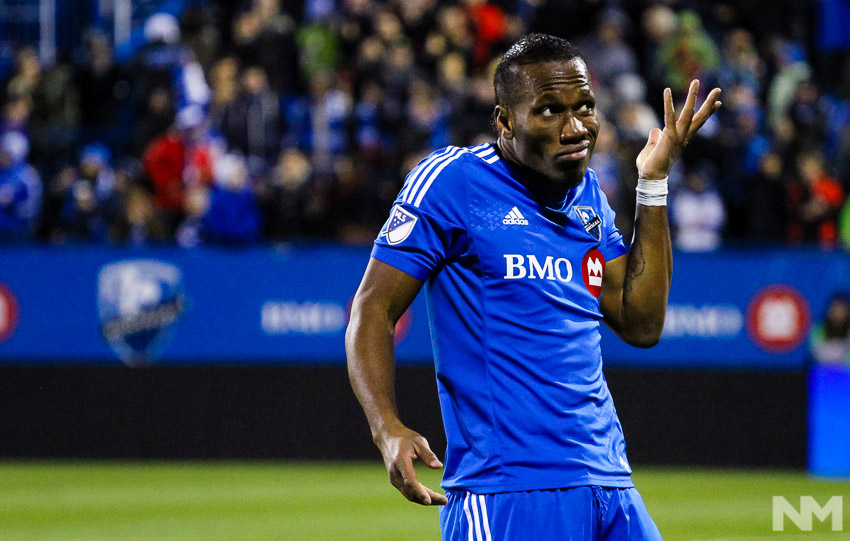 Didier Drogba a boudé  le match de ce week-end!